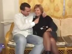 Mom and Boy, Big Tits, Hardcore, Mature, Old, Russian
