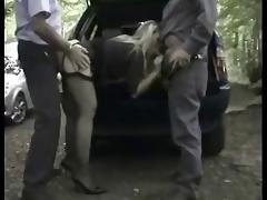 Milf Secretary Tagged Teamed at a Cruising Area