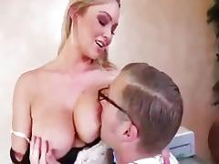 Abbey gets banged at the office
