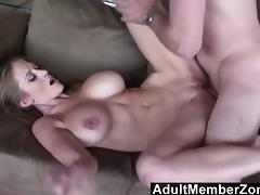 Abbey Lane 's big bouncing boobs will get you off