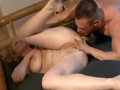 Busty German Mom Loves beautiful Guys...