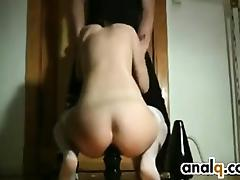 Thick Black Adult Toys Up Her Loose Ass