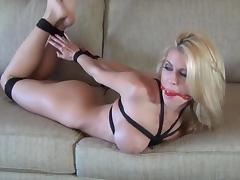 Bound, Anal, Ass, BDSM, Blonde, Bondage