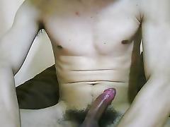 Boy masturbating