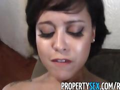 PropertySex - Cute realtor bangs her client