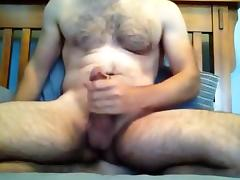 riding buttplug and jerking off until I cum