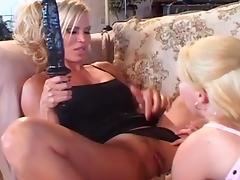 Mature Busty Blonde Lesbian