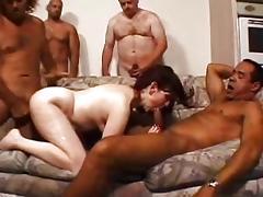 Misty's Mature GangBang