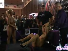 Sex has never been as public as this live show at a convention