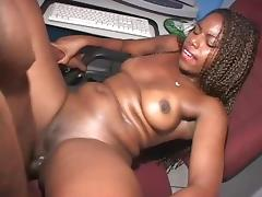 Big ass chocolate latina