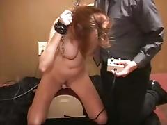 Sybian orgasm knocks out pornstar