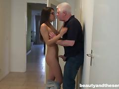 Mom and Boy, Amateur, Babe, Couple, Glasses, Hardcore