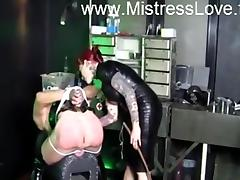 slave punished by mistress