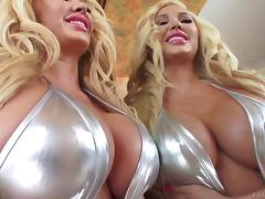 Bimbo beauty Summer Brielle pounded in every tight hole