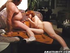 Amateur couple hardcore action