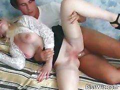 Blonde slut lies and waits part4