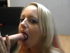 Beautiful girl US like handjob 038; blowjob