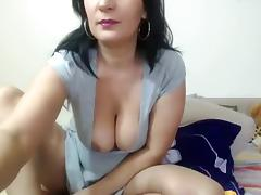 Big Tits, Big Tits, Brunette, Masturbation, Solo, Webcam