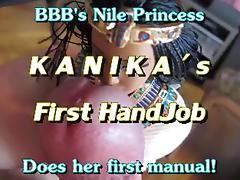 Kanika's 1st HandJob