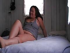 hmong bitch gets good pounding