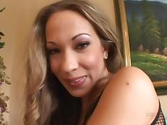 Hardcore Jamie Elle loves double penetration & cum in her mouth