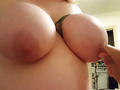 26 year old gf tits tied and slapped