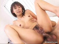 Maho Sawai rides cocks like a wild woman