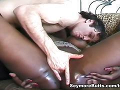 Alisha Klass & Mary Jane in Hot Interracial Threesome