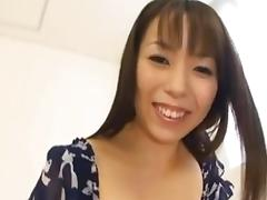 Anmi Hasegawa busty babe milking cock dry by eliman