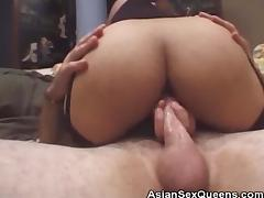 Asian Threesone Anal And Cumshots