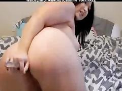 Amateur Chubby Teen Anal Toying