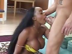 Big Boobed Girl Fucking A White Dick