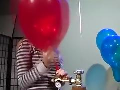 Balloon, Balloon, Fetish, Teen