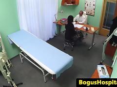 Hospital milf fucked by doctor on hidden cam