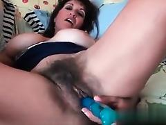 I am on MILF-MEET.COM - Horny hairy MILF inseminated