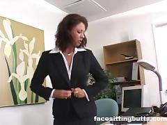 Boss, Boss, Femdom, Mexican, Office, Penis