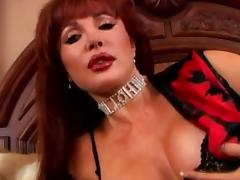 mature anal redhead
