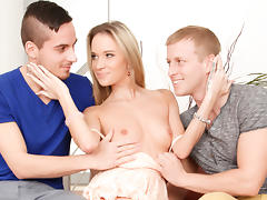 Angel Piaf, Harry, Denis Reed in Bi-Curious Couples #08, Scene #01