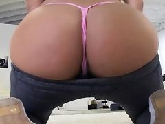 Bubblebutt babe twerking