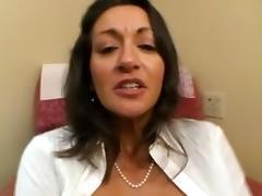 AMWF SEXY MILF PERSIA FUCKS HER ASIAN BOSS INTERRACIAL