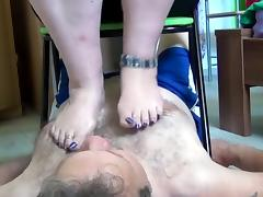 BBW Foot Smother (rough feet)