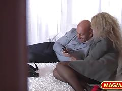 Boss, Audition, Blonde, Boss, Casting, Mature