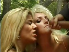 Blonde Facial Triple Cock Date ASHLEY ANNE 2nd Half of vid