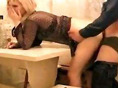 Granny Anal, Amateur, Anal, Assfucking, Blonde, Boobs