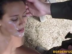 Civilian hottie fucking with BP agent
