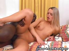 Blonde, Anal, Blonde, Interracial