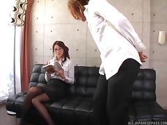 Nasty Japanese MILF teacher has hardcore sex with a student