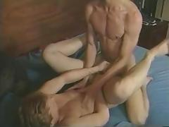 Vintage gay hunk porn with two hot blokes boning