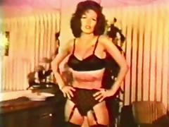 KISS KISS BANG BANG vintage mature striptease stockings