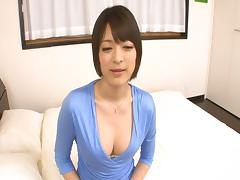 Japanese stockings sex for the lithe babe with a nice rack